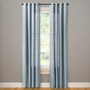 Spacedye Curtain Panel - Threshold